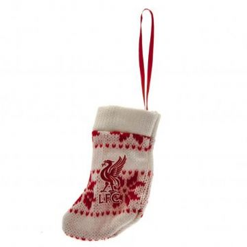 Liverpool FC Stocking Christmas Decoration